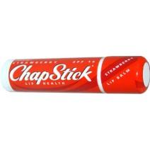 Chapstick Strawberry Blister Card